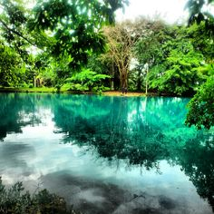 Linting Lake Medan Indonesia