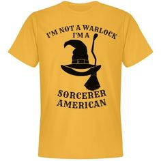 Even at Halloween, one has to be politically correct. Halloween Humor, Halloween Fashion, Funny Tees, I Shop, Orange, American, Colors, Sports, Mens Tops