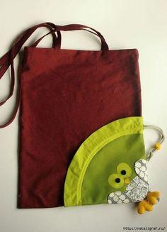 Выкройки-схемы хозяйственных сумок.