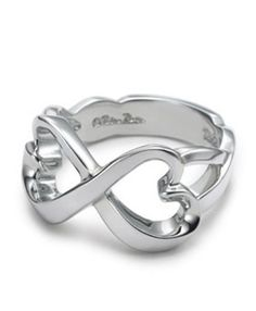 Tiffany  Co Outlet Double Loving Heart Ring