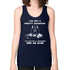 Fashions dvdaughter Unisex Fine Jersey Tank (on woman)