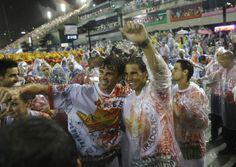 Rafael Nadal enjoys the Rio Carnival with David Ferrer and Gustavo Kuerten [PHOTOS/VIDEO]   Rafael Nadal Fans