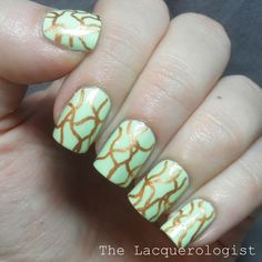The Lacquerologist: MASH Nail Art Pens and Pastel St. Patty's!...
