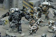 Iron Hands vs Iron Warriors