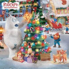 Rudolph The Red Nosed Reindeer® Village Set.... I HAVE THE WHOLE SET AND I LOVE IT