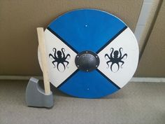Round shield DIY