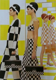 Louis Vuitton revisits fab mod UK fashion Louis Vuitton reworks the fabulous fashion in Britain 1960s Mod Fashion, Sixties Fashion, 60 Fashion, Moda Fashion, Fashion Fabric, Fashion History, Retro Fashion, Vintage Fashion, Fashion Design
