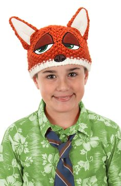 Nick Wilde Zootopia Kids Beanie Hat e1cf9cb847cd