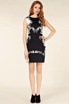 aa13020283fbab Blk Graphic Kimono Print Dress - Oasis. Oase Jurk