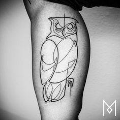 One Line Tattoos By Mo Ganji (18 Photos)