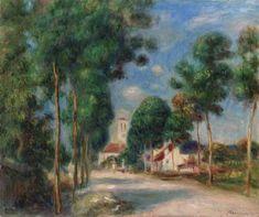 Pierre-Auguste Renoir (1841-1919)  Entrée du Village d'Essoyes