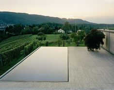 Infinity pools. I want to build a house full of them