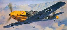 Roy Cross - ME 109E (1/24 Scale)