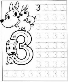 New System-Suitable Numbers Line Study - Preschool Children Akctivitiys Preschool Writing, Numbers Preschool, Preschool Printables, Preschool Lessons, Preschool Learning, Kindergarten Math, Teaching, Kids Math Worksheets, Preschool Activities
