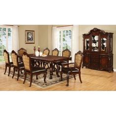 Benbrook Dining Table with Claw Feet and Palmette Details