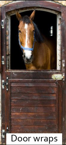 Horse Barn door wrap – Rm wraps Store