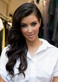 LOVE THIS. Side part, long hair and a soft curl.