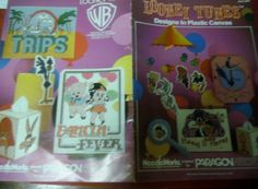 Plastic Canvas Pattern Leaflet Looney Tunes by ClassyStitches