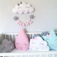 ideas for baby - Baby Bedroom, Baby Room Decor, Nursery Room, Nursery Decor, Baby Pillows, Kids Pillows, Baby Barn, Baby Girl Cakes, Diy Bebe