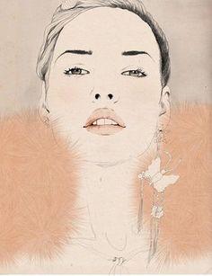 Sandra Suy é uma ilustradora de Barcelona que une duas paixões, moda e ilustração, resultando em imagens deliciosas de se admirar.