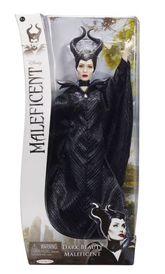 "Amazon.com: Maleficent Maleficent: 11.5"" Dark Beauty Maleficent Doll: Toys & Games"