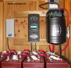 The Four Essential Parts of an off-grid solar power system and the basics of how it works