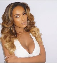 Malaysian Lace Frontal Ombre Malaysian Body Wave Closure Inch Human Hair Weave Three Tone Ombre Hair Extensions Free Part Indian Hairstyles, Weave Hairstyles, Blonde Hairstyles, Short Hairstyles, Remy Human Hair, Human Hair Wigs, Remy Hair, Love Hair, Gorgeous Hair