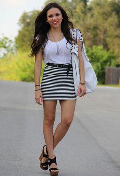 Forever21 in Skirt