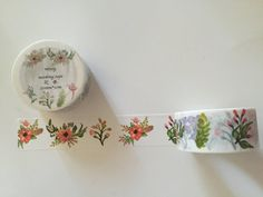 Floral Swag Washi Tape by GoatGirlMH on Etsy