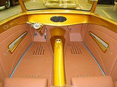 custom hot rod interior