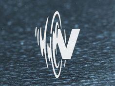 Creative Logo, Design, Whata, David, and Gonzalez image ideas & inspiration on Designspiration Dj Logo, Typography Logo, Logo Branding, Branding Design, N Logo Design, Design Typography, Symbol Design, Brand Identity, Lettering