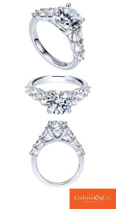 Danfil Diamonds Wedding Rings In White Gold With Diamonds And Black