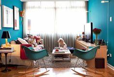 Meu Cantinho Decorado: Cadeira de Balanço Charles e Ray Eames