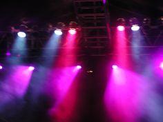 Stage lighting at a public concert of acid jazz Concert Lights, Disco Lights, Stage Lighting Design, Acid Jazz, Church Stage Design, Sound Design, Dark Fantasy Art, Inspiration, Image