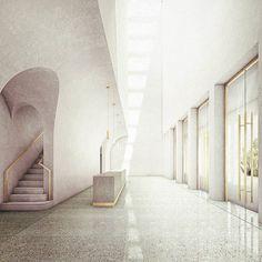 """260 Me gusta, 6 comentarios - Eric Dietze (@ed__________________________) en Instagram: """"Conservatorio di Musica i Napoli-Foyer #architecture #architecturestudent #archi_students…"""""""