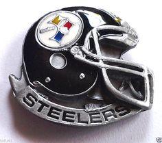 *** PITTSBURGH STEELERS HELMET *** Novelty NFL Hat Pin P52033 EE