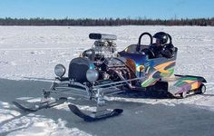 Now That's a snowmobile !