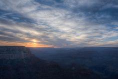 Sunrise at the Grand Canyon, Arizona