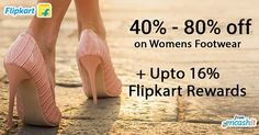 Get flat 40% to 70% off on women footwear like heels flats shoes wedges formals and more at Flipkart  get upto 16% rewards from encashit >> http://ift.tt/1oO292X  #footwear #heels #shoes #formals #wedges #flipkart #flipkartfootwear #rewards #flipkartrewards #flipkartcashback #cashbackoffers #flipkartdeals #flipkartoffers #cashback