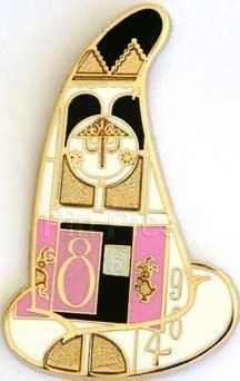 WDI Disney IT'S A SMALL WORLD SORCERER HAT Mystery LE 250 Pin Attraction #2 RARE | eBay