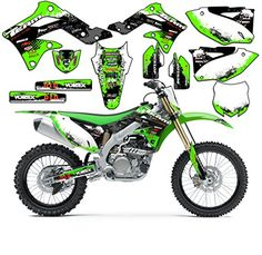 Team Racing Graphics kit for 2003-2012 Kawasaki KX 125/250, SCATTER  Team Racing Graphics kit These graphics are manufactered to fit on a 2003-2012 Kawasaki KX 125/250. The set includes stickers for- Rad scops and gas tank, front and rear fenders, swingarms, fork guards, all 3 number plates,and airboxes on most models. These graphics are manufactered to fit on a 2003-2012 Kawasaki KX 125/250. The set includes stickers for- Rad scops and gas tank, front and rear fenders, swingarms, fo..