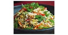 Recipe Vietnamese chicken noodle salad by learn to make this recipe easily in your kitchen machine and discover other Thermomix recipes in Main dishes - meat. Meat Recipes, Salad Recipes, Food Processor Recipes, Dinner Recipes, Cooking Recipes, Healthy Recipes, Radish Recipes, Healthy Salads, Eating Healthy