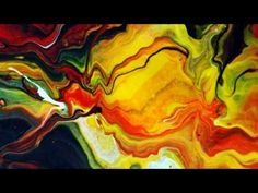 Abstract Fluid Painting Gallery By Mark Chadwick