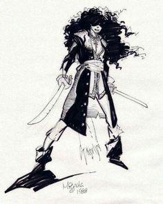 sorcerersskull:Art by Mike Mignola