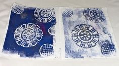 Gelli Plate Printing: The Ghost Image video