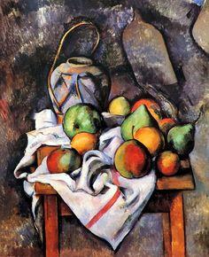 https://flic.kr/p/G7FL25 | Paul Cézanne (Aix-en-Provence, 1839-1906) El jarrón de paja (c. 1895) | Paul Cézanne (Aix-en-Provence, 1839-1906) Le vase paillé (c. 1895) Philadelphia/Filadelfia (Fundación Barnes)