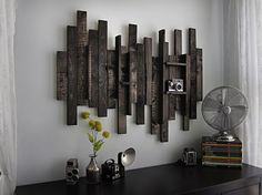 Rustic Wall Decor: Ideas to Brighten up Boring Walls {Guest Post} at Kirsty Girl