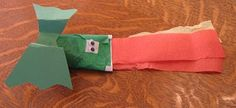 """Almost Unschoolers: Toilet Paper Tube Dragon """"Puppet"""""""