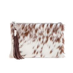 The Arundell Cowhide Clutch from Hyde & Hare