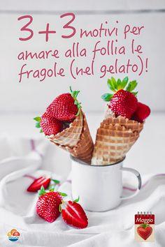 Di motivi per amarle ce ne sono tanti! Noi, ne abbiamo scelti sei. Scoprili. E gustali nel #gelatoartigianale.